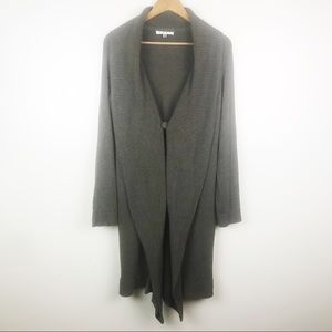 CAbi Shawl Duster Cardigan Sweater Single Button